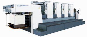 小森社製 4色印刷機 LITHRON 40