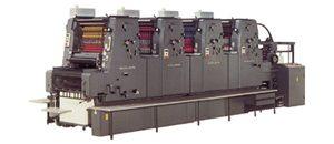 ハイデルベルグ社製 4色印刷機 MOV