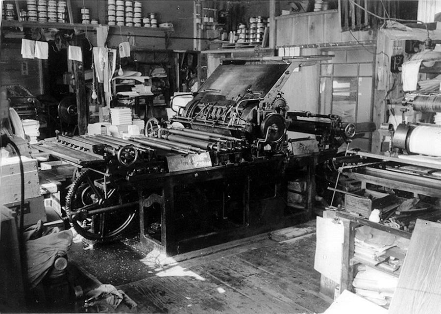 石版印刷機