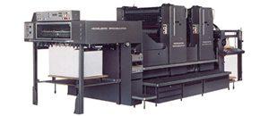 ハイデルベルグ社製 2色両面印刷機 102ZP